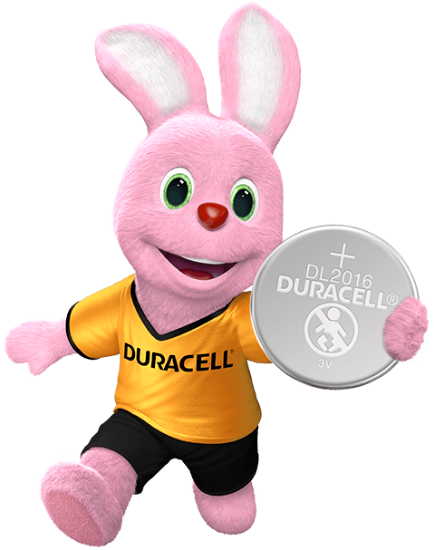 Duracell Bunny introducerer Lithium Coin 2016 batteri
