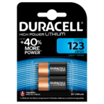 Duracell Speciality Lithium 123 Batterier i 2 stk pakning