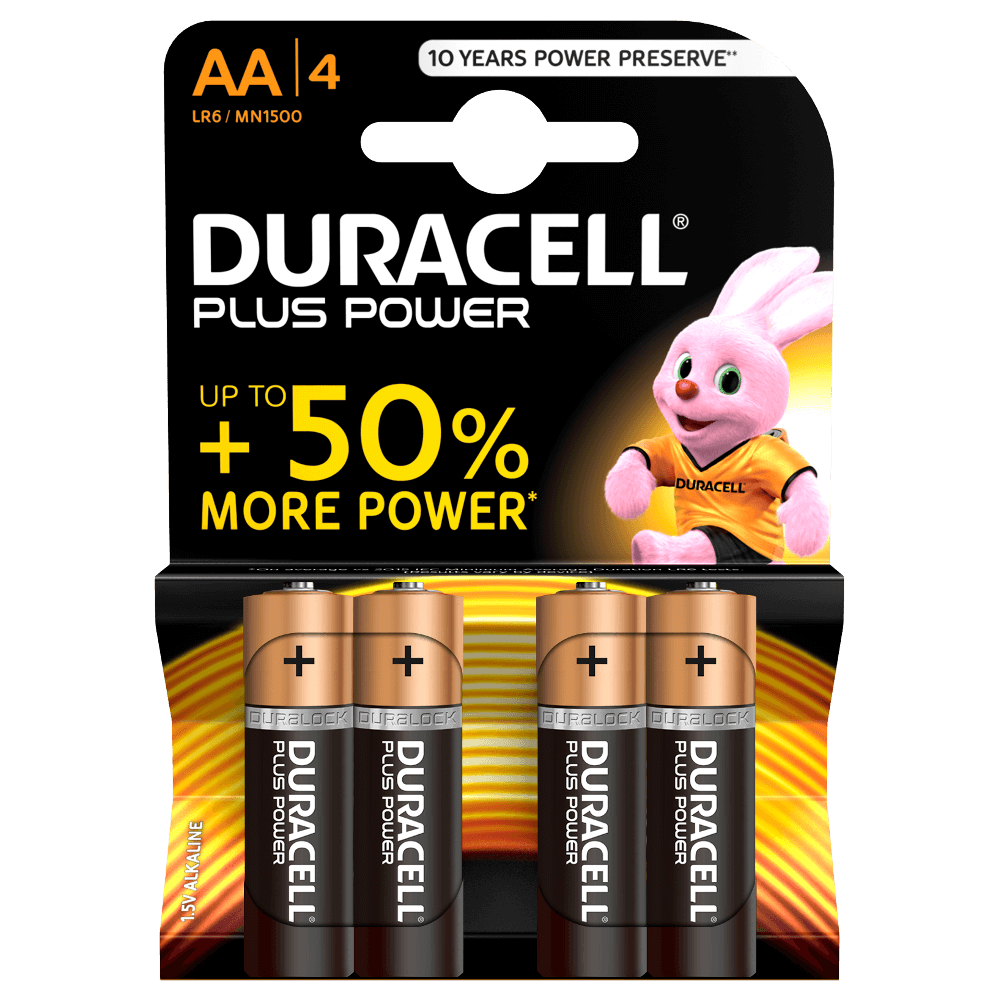 Højmoderne Duracell Plus Power AA-batterier HO-69