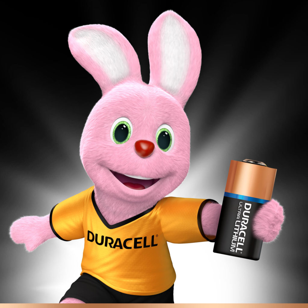 Bunny introducerer Duracell Speciality Lithium 123-batteri