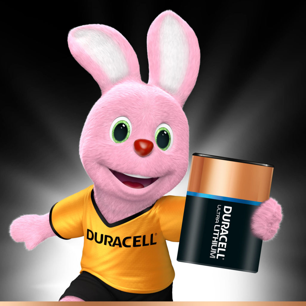 Bunny introducerer Duracell Specialitet High Power Lithium 245 størrelse 6V fotobatteri
